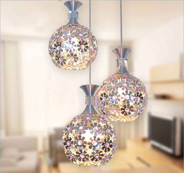 Free Shipping Beautiful Silver Crystal Chandelier Light Fixture Aluminum Hanging Lamp Crystal Light for Dining Bedroom Brazil anqiue led ceiling lamp beautiful chandelier jingdezhen porcelain light for dining bedroom hotel free shipping