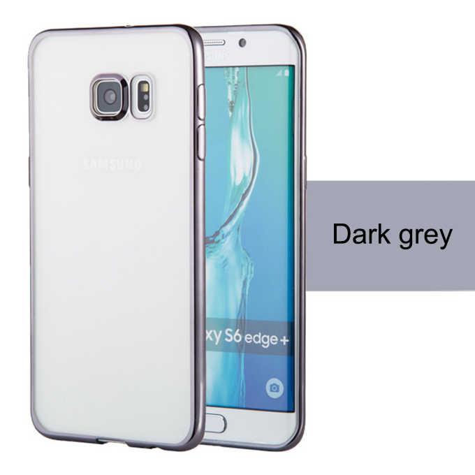 Silicone Case untuk Samsung J3 J5 J7 2015 2016 2017 S6 S7 Edge S8 Plus S3 S4 s5 Catatan 3 4 5 Cell Phone Cover
