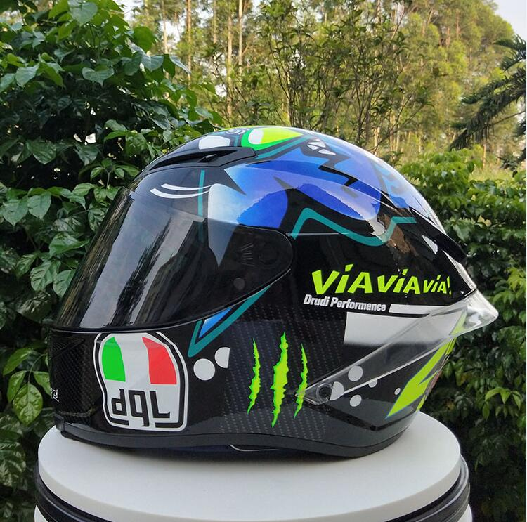 New Motorcycle Helmet Male Full Helmet Professional Helmet Competition Suitable For Four Seasons Use Safety Performance 4