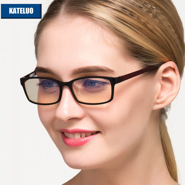 58a9bc03ae4 TUNGSTEN CARBON Computer Goggle Anti Blue Laser Fatigue Radiation-resistant Reading  Glasses Frame Eyeglasses Oculos