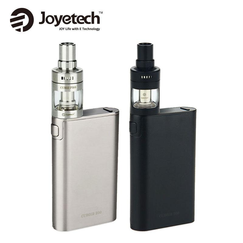 Original Joyetech Cuboid 200W Kit with CUBIS Pro Atomizer 4ml W/Notchcoil 0.25ohm E Cigarette 200W Cuboid TC/VW BOX MOD Vaping joyetech cuboid pro touch screen tc mod page 6