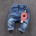 spring baby jeans denim trousers for boys and girls.
