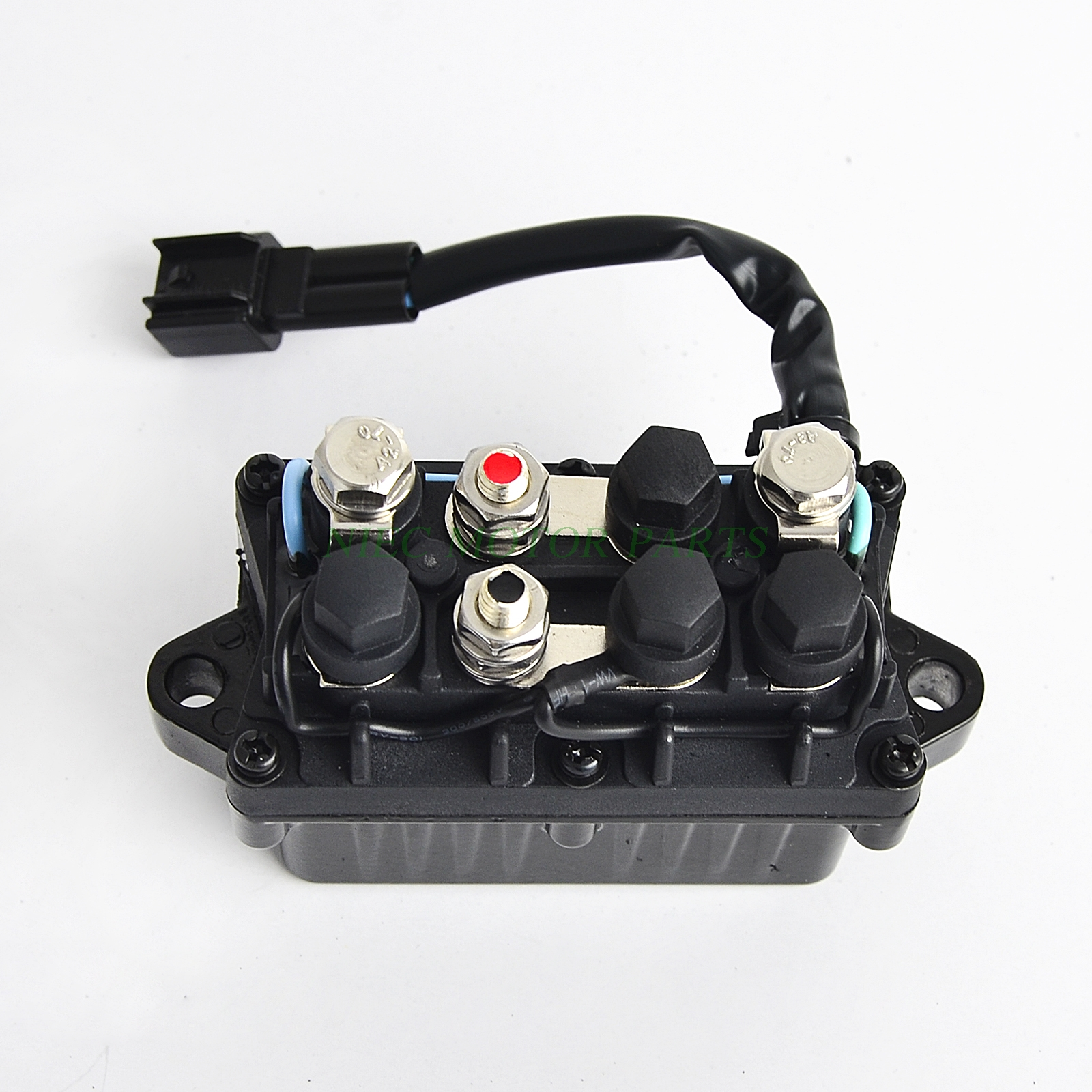power trim relay in box 2 pin for 4 stroke 40hp 225hp for yamaha outboard engine [ 1600 x 1600 Pixel ]