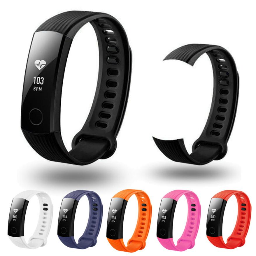 16MM New Fashion Sports Silicone Bracelet Strap Band For Huawei Honor 3 Smart Watch