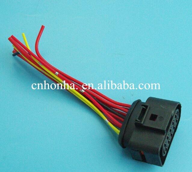 10pcs 10 PIN 3.5mm 1J0973735 1J0 973 735 HEADLIGHT ELECTRICAL PLUG ...
