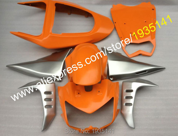 Hot Sales,Aftermarket kit For Kawasaki fairings Z1000 plastic 2003 2004 2005 2006 Z 1000 03 04 05 06 Cowling body Orange silver hot sales for mv agusta abs plastic fairings 1 1 f4 1000 body kit 2005 2006 mv agusta f4 1000 05 06 red balck motorcycle cowling