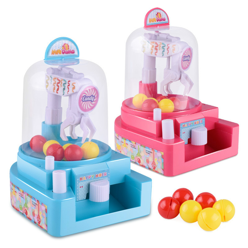 Kids Toys Catching Balls Machine Mini Candy Grabing Boys Girls Destop Sport Game Children Education Toys Party Toy Birthday Gift Ture 100% Guarantee