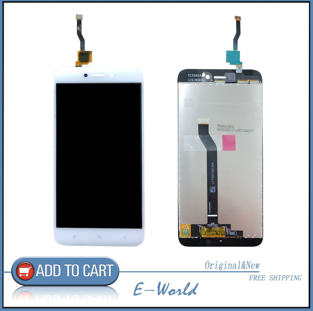 Original 5inch LCD Screen With Touch Screen For Xiaomi Redmi 5A Digitizer Assembly Redplacement Parts For Hongmi 5A LCD Display