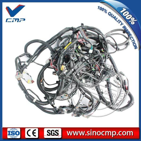 pc200 8 pc220 8 main wiring harness 20y 06 42411 for komatsu rh aliexpress com Wiring Harness Diagram Trailer Wiring Harness