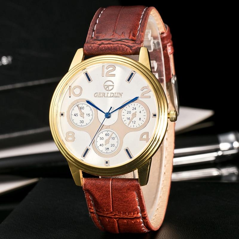 2017 Fashion Chronograaf Sport Heren Horloges Topmerk Luxe Militaire - Herenhorloges - Foto 6