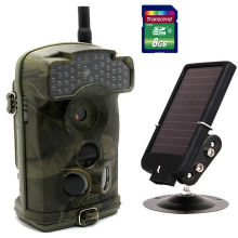 Free Shipping!Ltl Acorn Ltl-6310WMG 12MP MMS GPRS Trail Game Hunting Camera+7V Solar Panel+8GB