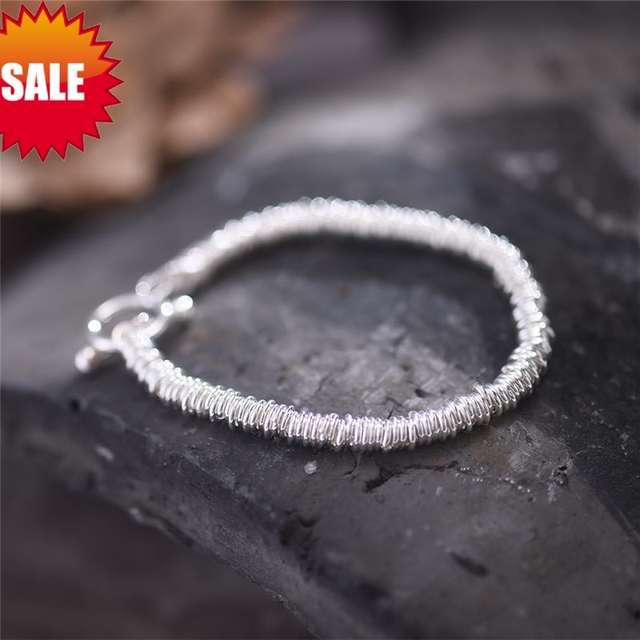 Women Chain & Link Bracelets / S925 sterling Silver pieces / Unique Handmade Original design