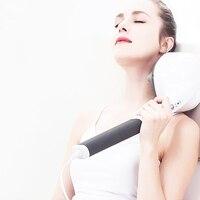 Multifunction Anion Cervical Massager 4 Massage Head Electric Massager Body Massage Hammer Slimming Device 220V