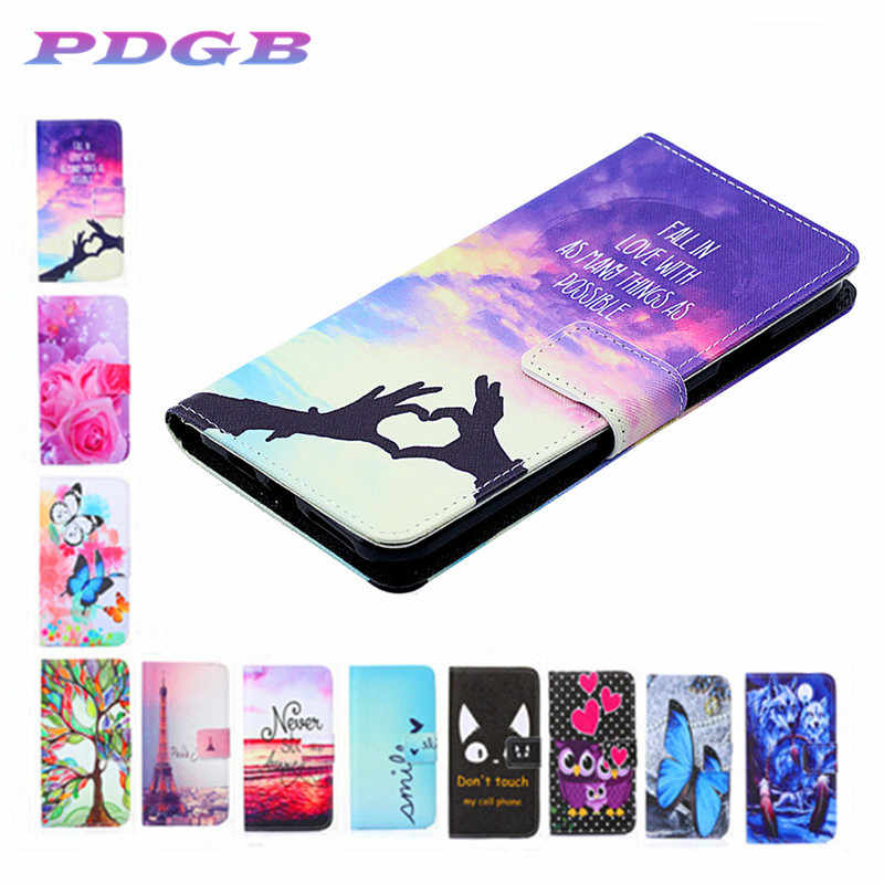 2019 New Phone Case Cover For Doogee N10 Y6 Y8 X20 X70 Leather Case Art Paint coque fundas case for Doogee Y8 N10