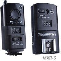 Aputure Trigmaster MXII S Wireless Strobe Flash & Camera Shutter Trigger For Sony A900 A65 A450 A100 A77 A55 A35 A33 A850etc,