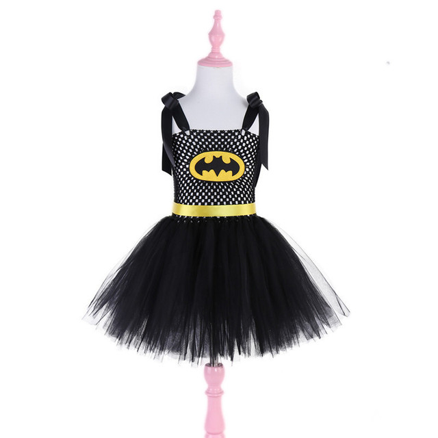 New Design Super Cute Black Tutu Costume Batgirl Girls Tutu Dresses ...