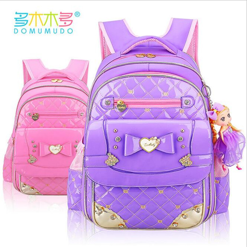 New Cute Children Backpack Grade 1-6 Girls School Bags Backpacks butterfly backpackO school fashion best waterproof backpack