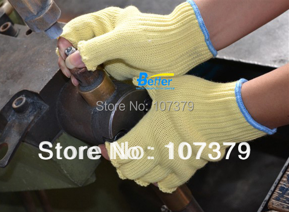 Aramid Fiber Anti Cut Safety Glove HPPE Cut Resistant Work Glove цены онлайн