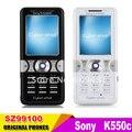 Sony ericsson k550 k550i teléfono móvil cuatribanda 2mp reformado teléfono original del envío libre