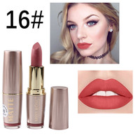 Lipstick Matt Pigmented Cosmetic Waterproof Lipstick