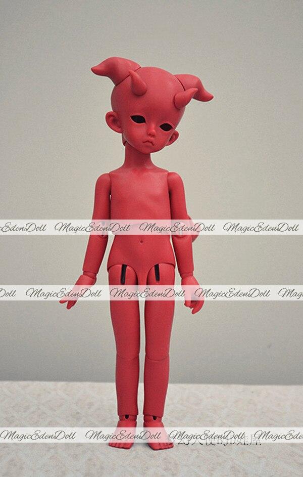 HeHeBJD 1/6 poupée Trachy & Lami yeux libres poupée jouets version fantastique avec la fourche livraison gratuite-in Poupées from Jeux et loisirs    1