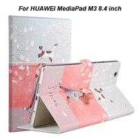 Fashion PU Leather TPU Smart Case For HUAWEI MediaPad M3 BTV W09 BTV DL09 8 4