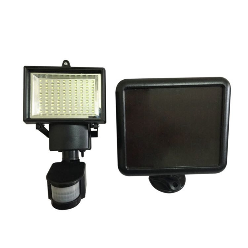 LukLoy Solar Energy Flood Light Highlight Outdoor Lamp for Outdoor Tunnel/Garden/Square/Billboard/Building Exterior Lighting
