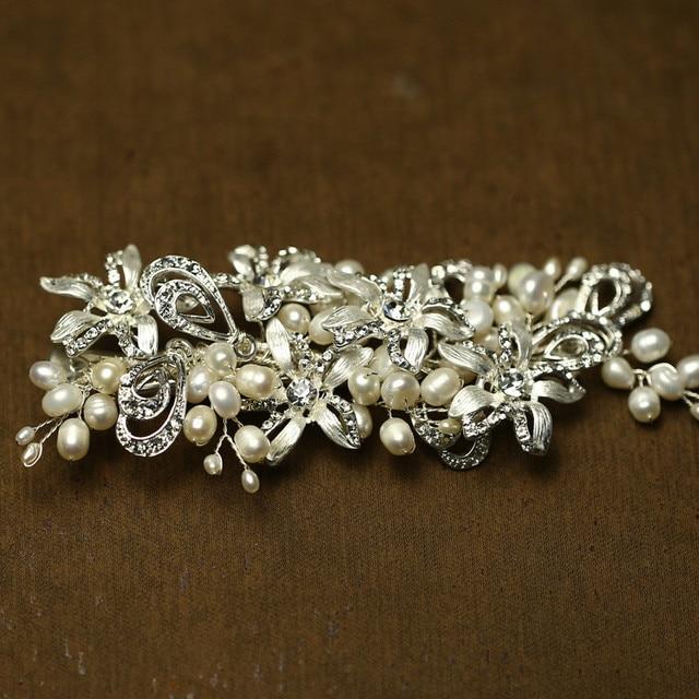 Haarschmuck hochzeit perlen
