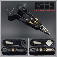 3pcs/set Professional Darts Free Carry Box 24g 25g Black Golden Color Steel Tip Darts With Brass Darts Shafts