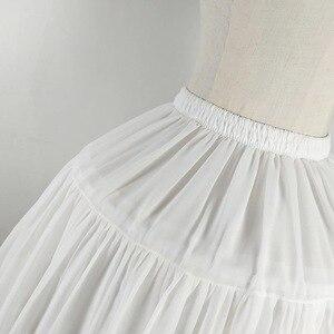 Image 5 - Lolita jupon en mousseline de soie, Cosplay, sous jupe courte, noire, accessoires de mariage, pour femmes, 2019