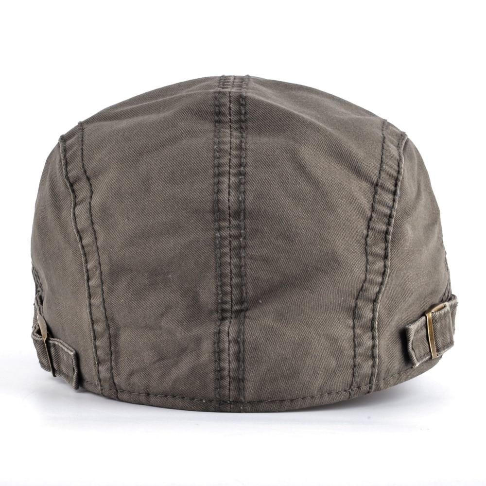 1513c8906c79b 2017 Adjustable Beret Hat For Men Washed Cotton Boina Caps Women Gorras  Pico De
