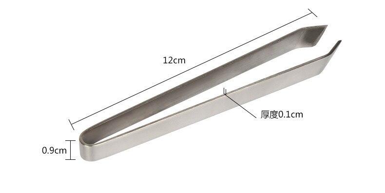 New kai Sashimi Fish Bone Puller Remover Stainless Steel Tweezer DH-2251 Japan