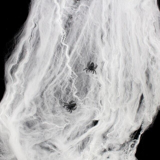 Five Color Spider Cotton Halloween Activities Spider Props Haunted ...