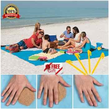 Magic Sand Free Beach Mat Camping Outdoor Picnic Large Mattress Waterproof Bag Drop Shipping - DISCOUNT ITEM  26% OFF All Category