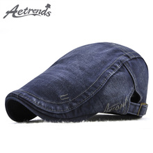 [AETRENDS] 6 Colors Cotton Ivy Caps Newsboy Cap Cabbie Gatsby Driving Hats for Men Z-6462