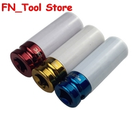 3Pcs 17mm 19mm 21mm 1/2IN Colorful sleeve Tire protection sleeve Wall Deep Impact Nut Socket Alloy Wheel