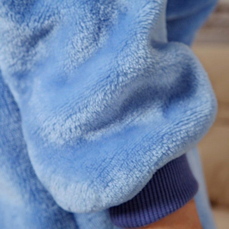 Baby Boys Qızlar Pijamalar Payız Qış Uşaqları Flanel İsti - Uşaq geyimləri - Fotoqrafiya 6