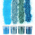 4 Botellas/Set Brillo de Las Gemas 1 Caja 10g Lentejuelas Glitter Polvo De Acrílico Para Uñas Nail Art consejos BG041-044