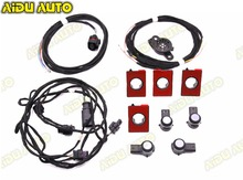 PDC Parking OPS System UPGRADE KIT Wire cable Harness USE For Audi A4 B8.5 PA
