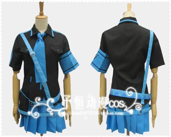 Japanese Anime Cosplay Costumes Kagamine Rin Len Dress Love Is War