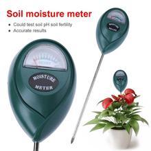 Измеритель влажности почвы для сада влажность Солнечный свет цветок, растение, свадебная брошь, почвы и гигрометром декоративные часы для тестер воды Ph инструмент без Подсветка садовый инструмент