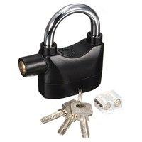 New Alarm Lock Security Siren Anti Theft Alarmed Padlock Motor Bicycle Padlock