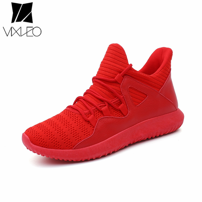 VIXLEO Casual Shoes Men Ultra Boosts Military Camouflage Summer Krasovki Army Red Trainers Zapatillas Deportivas Hombr 39-46