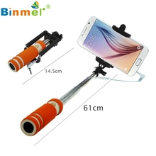 1PC Handheld Extendable Self-Pole Tripod Monopod Stick For Smartphone