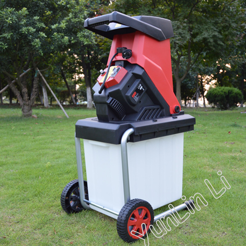 Desktop Tree Branch Crusher Electric Breaking Machine High Power 2500W Electric Pulverizer Garden Tool Shredders ES-S4002 image