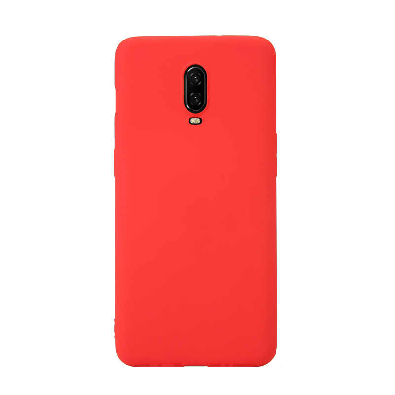 جراب هاتف كاندي اللون الفاخر لهاتف Oneplus 7 Pro مصنوع من السيليكون غير اللامع لهاتف One Plus 7 6 6t 5 5T 1 + 7 1 + 6T