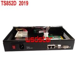 TS852D 2019 Full color sending card box 1pc TS802D sending card inside LED Screen Control System TS802 TS801D SB-8 3pcs/lot