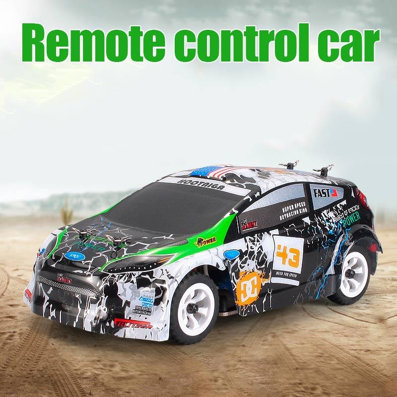 Мини rc автомобиль 1:28 2.4 г внедорожных Дистанционное управление частот игрушка для WLtoys K989 гоночных автомобилей детские подарки BM88