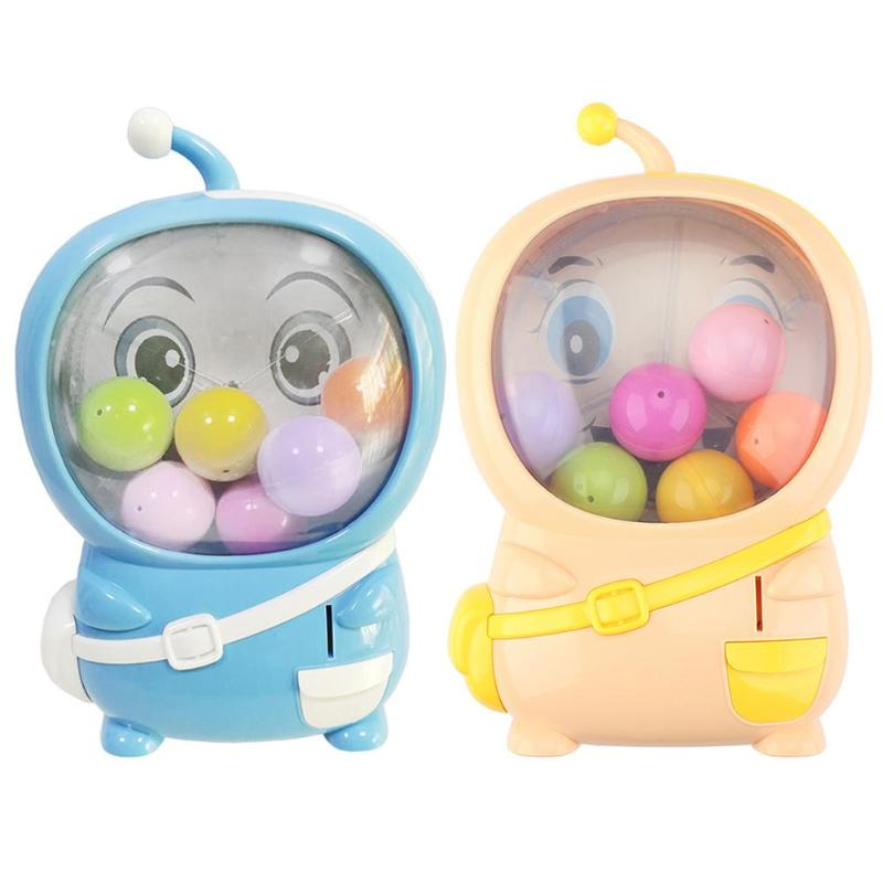 Kids Shake Egg Capsule Toy Electric Music Coin Rotating Egg Machine Children Funny False Coin Electric Rotate Eggs Machine Toy