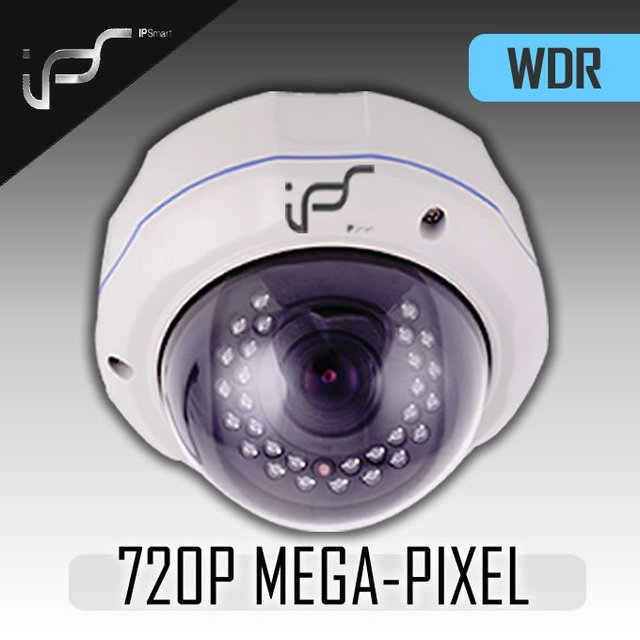 IPS 720P, WDR, VANDALPROO,F DAY&night,POE optional  ip dome  cameras( IPS-722)
